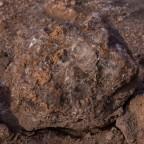 La selenita, el mineral  brillante del valle de la Luna. Desierto de Atacama